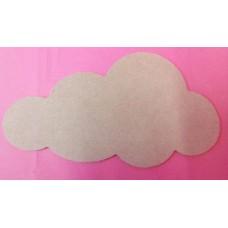 4mm  MDF Cloud Shape 200mm