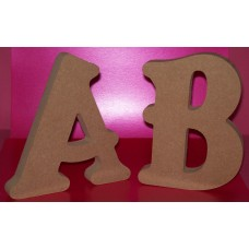 18mm Thick MDF Belshaw Font Letters 150mm high