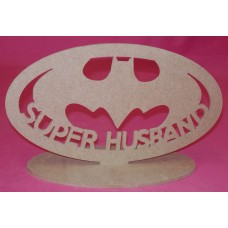 4mm Thick MDF Super Bat HUSBAND