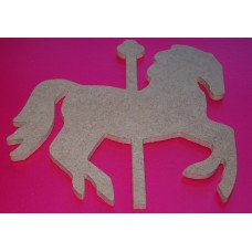 4mm Thick MDF  Merry go Round horse pack of 5
