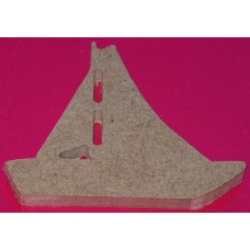 MDF Yacht 100mm in size pack of 3