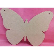 4mm  MDF Butterfly 100mm in size pack of 3