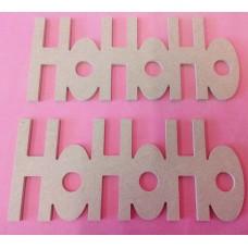 4mm MDF HOHOHO plaque 180 mm wide