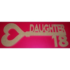MDF Key for Daughter 18