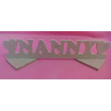 4mm MDF Standing Nanny plaque