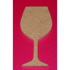MDF Wine Glass 100mm in size pack of 3