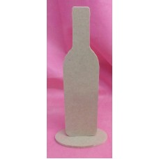 4mm MDF Standing Bottle 200mm tall