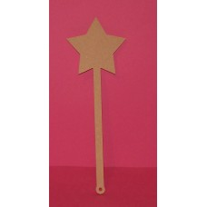 MDF 6MM Thick  Star   Wand
