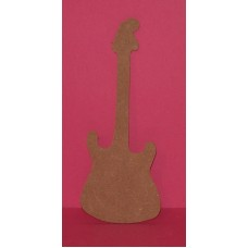 MDF 4mm Thick Guitar 200mm long pack of 2