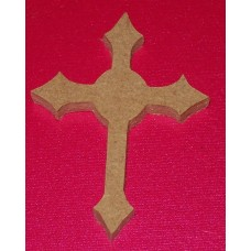 MDF Cross with round centre